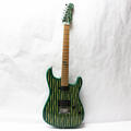 Rare 2004 Fender Stratocaster Kon-Tiki Green Electric 6 String Guitar USA