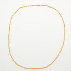 "NEW Classic 14K Yellow Gold  Rope 20"" Open Box Clasp Chain"