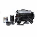 Sony DSLR-A200 10.2MP Digital Camera 18-70mm  Macro Telfoto Lens 70-300mm Extras