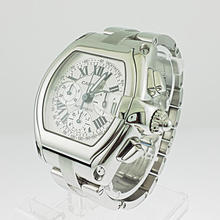 Authentic Cartier Roadster Stainless Steel Unisex Watch