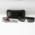 Authentic Ray Ban RB 4057 601 3N Black Sport Sunglasses