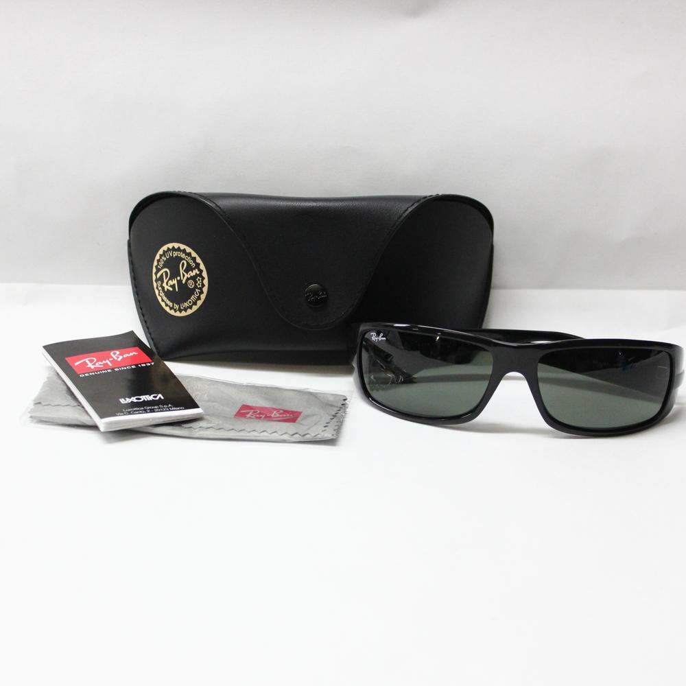 f52d9f9107 Authentic Ray Ban RB 4057 601 3N Black Sport Sunglasses