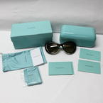 Authentic Tiffany & Co TF4059 8015/T5 Dark Havana Polarized Lens Sunglasses