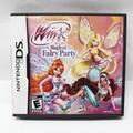 Winx Club Magical Fairy Party Nintendo DS 2012 Video Game In Original Case