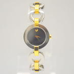 Ladies Movado 10 3 20 1045 0606261 Belamoda Two Tone Stainless Steel Watch
