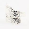 Unique Avon Sterling Silver 925 Spoon Handle Design Ladies Ring