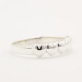 Sweet Five Heart Sterling Silver 925 Ring Band