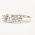 Fancy Ladies Sterling Silver 925 Zirconia Ring