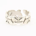 Cute Chic Sterlling Silver Butterfly Toe Ring Jewelry