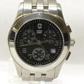 Swiss Army Alliance Mens Black Dial Quartz Chronograph Watch 241049