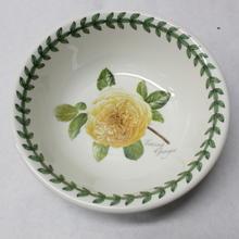 Portmeirion Botanic Roses Teasing Georgia 3 Piece Plates & Bowls Set