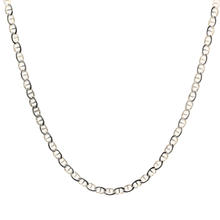"Lustrous 925 Sterling Silver Gucci Link Design 18"" Chain Jewelry"