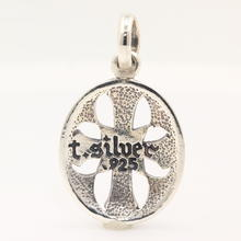 Vintage Estate 925 Sterling Silver Religious Cross Pendant