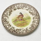 Spode Woodland Pheasant Salad Plate - 7.5 inches - S3422-A7
