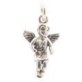 Vintage Estate Sterling Silver 925 25mm 3D  Angel  Charm