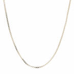 "NEW Modern 925 Sterling Silver 18"" Box Chain Spring Ring Clasp Jewelry"