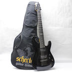 Schecter C-7 SGR 7 String Black Electric Right Hand Guitar With Gig Bag