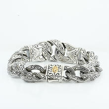 Authentic Scott Kay Sterling Silver Mens Guardian Bracelet