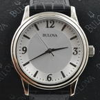 Bulova Corporate Collection 96A28 Leather Men's Quartz Watch
