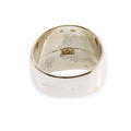 Men's Estate 925 Silver Aztec Calendar Sz. 9.5 Ring