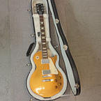 Authentic Gibson 2012 Les Paul Standard Model Gold Top Guitar