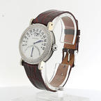Authentic Gerald Genta 35mm Retro Biretro Limited Edition Ladies Diamond Watch