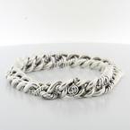 Authentic David Yurman Sterling Silver 925 Mens Chain Link Bracelet