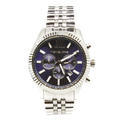 Michael Kors Lexington Chronograph Navy Dial Mens Watch MK8280