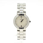 Elegant Concord La Scala 14.G4.1843 S Diamond MOP Dial Stainless Steel Watch