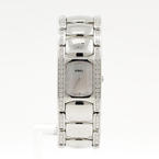 EBEL E9057A28-10 Ladies Beluga Manchette Diamond Bezel Stainless Steel Watch