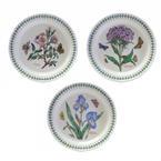 Botanic Garden Iridaceae Douglasiana Iris 3PCS Plate Set