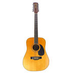 Mitchell MD-212 Acoustic 12 String Dreadnought Guitar With Case!