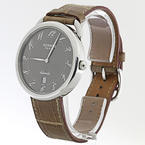 Stainless Steel HERMES Pairs AR4.810  Arceau TGM Automatic 41mm Watch