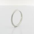 Authentic Tiffany & Co Platinum Milgrain 2mm Wedding Band Ring