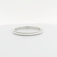 Authentic Tiffany & Co Platinum Milgrain 2mm Wedding Band Ring