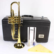 Bundy Gold trumpet W/ Bundy Black Case