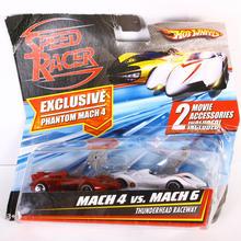 Hot Wheels Speed Racer Phantom Exclusive  Mach 4 vs. Mach 6 ThunderHead Raceway