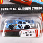 Mattel Disney Pixar The World OF Cars Sythentic Rubber Tires! Easy Idle No. 51