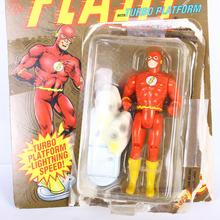 Vintage 1989 Toy Biz 4441 The FLASH With Turbo Platform DC Comics Super Heroes