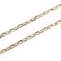 "Classic Estate 925 Sterling Silver 30"" Link Chain Spring Ring Clasp Jewelry"