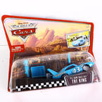 "Mattel Disney Pixar The World of Cars ""Pit Row Race Off"" The King Launch & Race"
