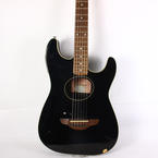 Fender Standard Stratacoustic Black 6 String Acoustic Electric Guitar