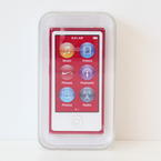 """Apple Ipod Nano PD744LL/A 16GB """"Special Edition"""" 7th Generation Red Mp3 Player"""
