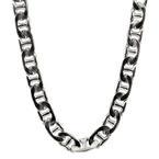 "Classic Estate Mens 925 Sterling Silver 20"" Marina Chain  Jewelry"
