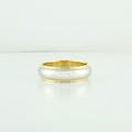 Authentic Tiffany & Co Milgrain 18K Yellow Gold Platinum 6mm Wedding Ring Band