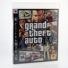 Sony Playstation 3 Grand Theft Auto GTA: IV 4 Rockstar Video Game No Booklet