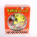 Vintage 1989 Felix the Cat Wind Up Alarm Clock in Original Box