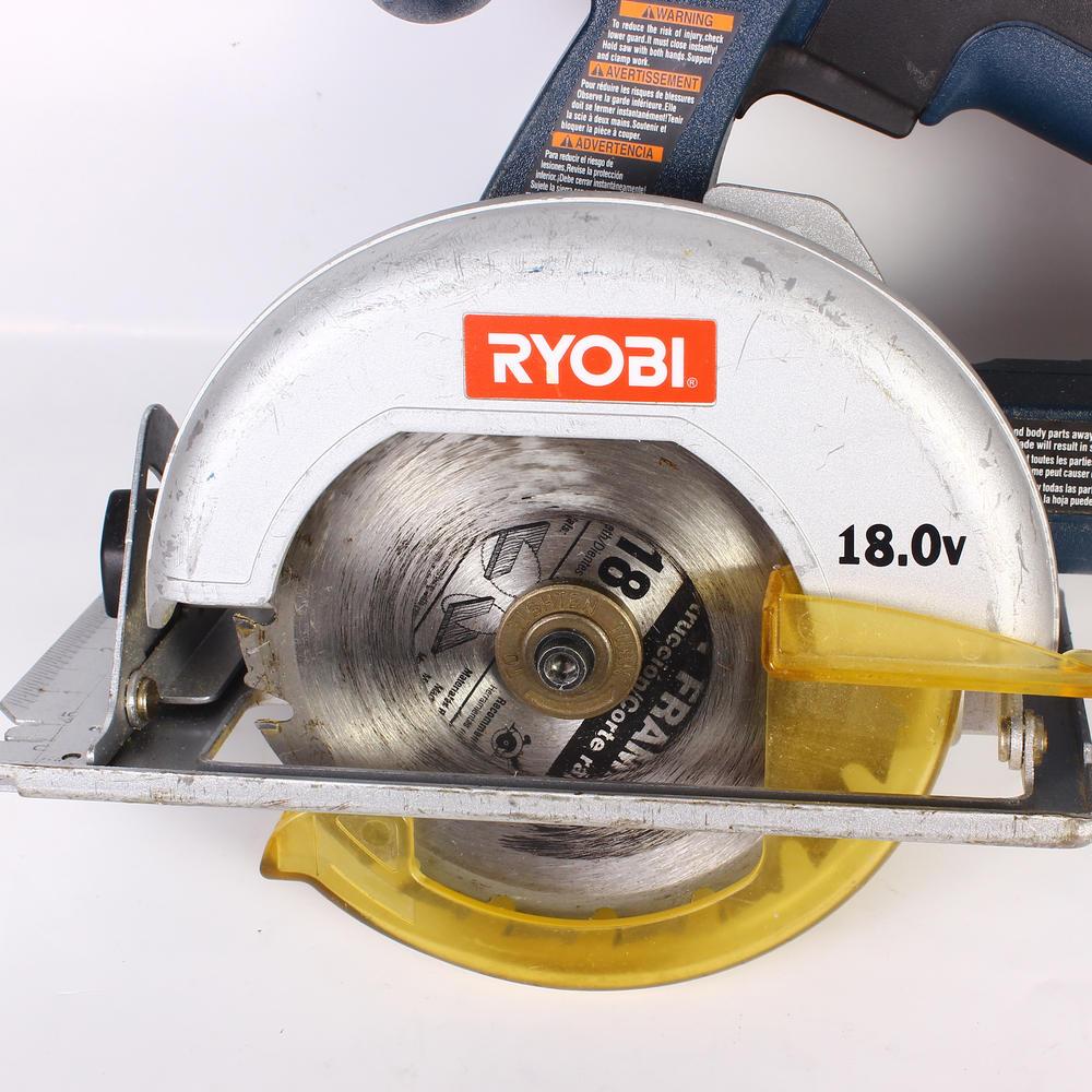 Ryobi 18 Volt P501 P206 Circular Saw 1/2