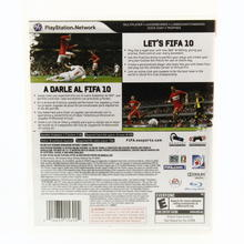 Sony Playstation 3 Fifa Soccer 10 EA Sports Video Game