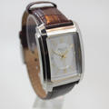 Kenneth Cole Mens Silver Dial Leather Strap KC1806 Quartz Watch